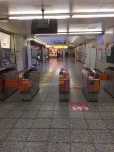 鎌ヶ谷大仏駅 改札口